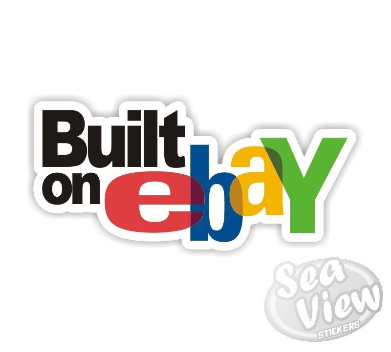 Built on ebay sticker