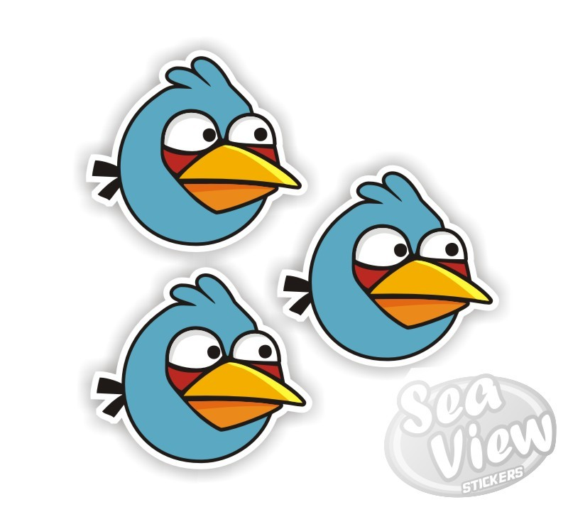 Blue Bird Angry Birds - Birds Of Prey