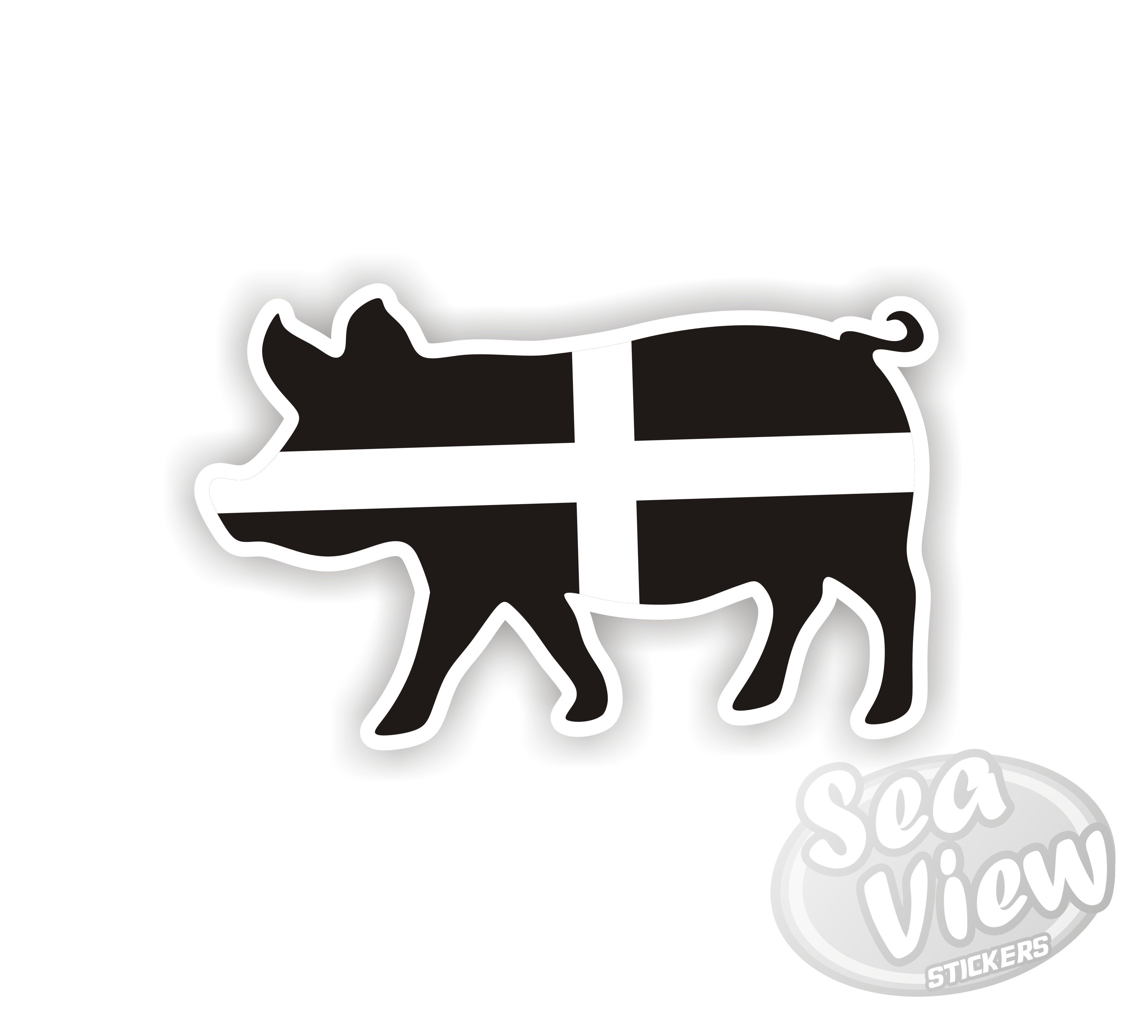 Cornish Pig Sticker