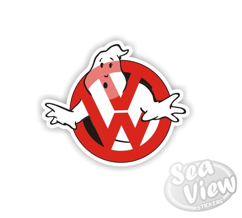 Vw ghostbusters 1 sticker