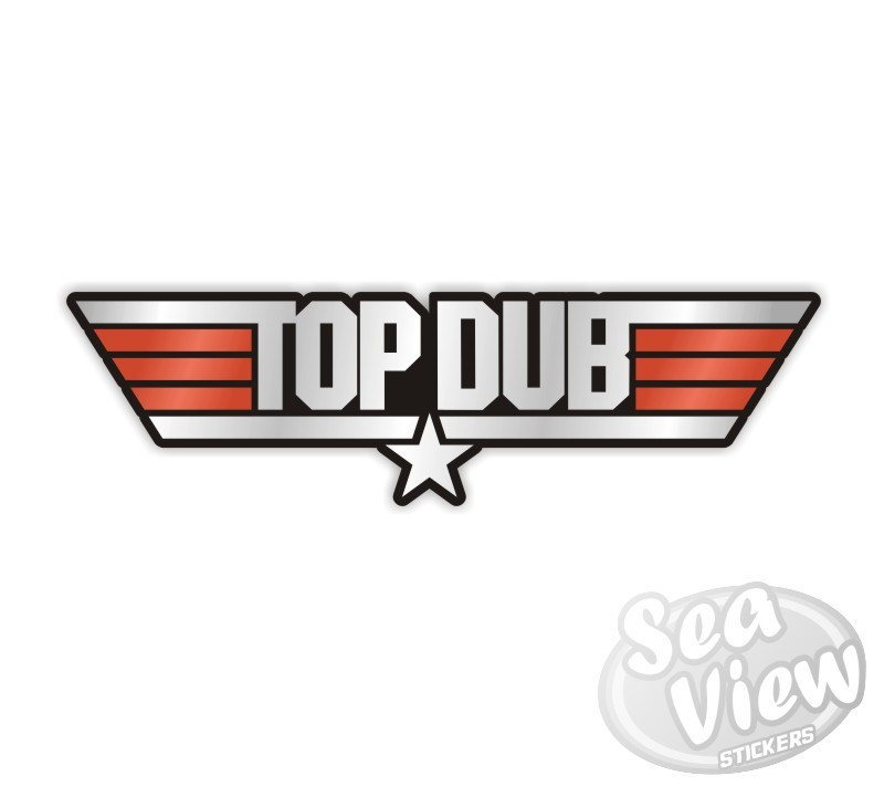 Top dub sticker