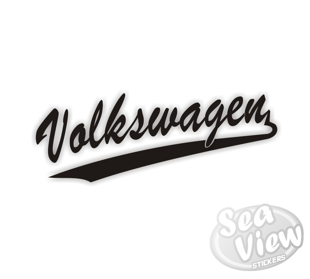 Volkswagen retro sticker