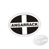 Angarrack Oval Sticker