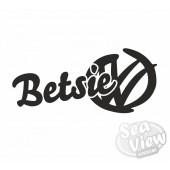 Custom Name VW Graffiti Logo