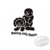Making Jelly Babies sticker