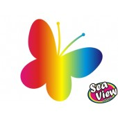 30 Butterfly Stickers