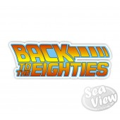 Back To The Eighties Sticker