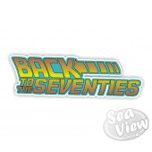 Back To The Seventies Sticker