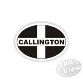 Callington Oval Sticker
