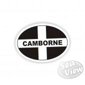 Camborne Oval Sticker
