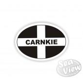 Carnkie Oval Sticker