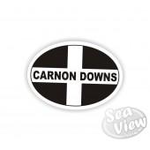 Carnon Downs Oval Sticker