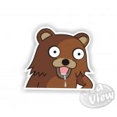 Dribbling Pedo Bear Sticker