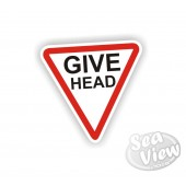 Give Head Sticker