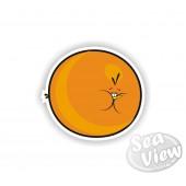 Atomic Angry Bird Sticker