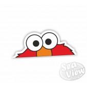 Peeping Elmo Sticker
