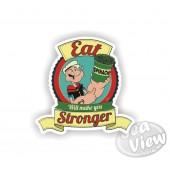 Popeye Spinach Sticker
