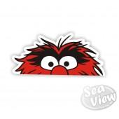 Peeping Animal Sticker