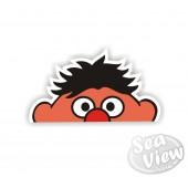 Peeping Ernie Sticker