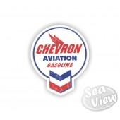 Retro Chevron Sticker