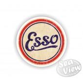 Esso Oil Sticker