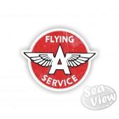 Flying A Service Sticker
