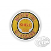 Motor Shell Oil Sticker