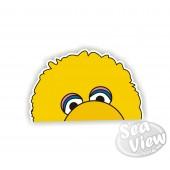 Peeping Big Bird Sticker