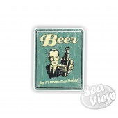Retro Beer Sticker