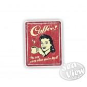 Retro Coffee Sticker
