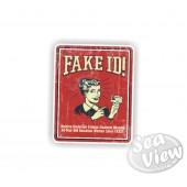 Retro Fake ID Sticker