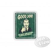 Retro Good Job Sticker