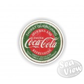 Retro Coca Cola Thirst Quenching Sticker