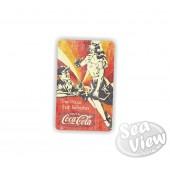 Retro Coca Cola the Pause Sticker