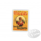 Retro Coca Cola Cures Headaches Sticker