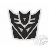 Decepticon Single Colour  Sticker