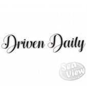 Driven Daily sticker