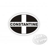 Constantine Oval Sticker
