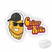 Crimp My Ride Pasty Sticker