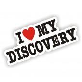 I Heart My Discovery Sticker
