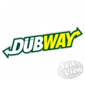 2 x Dubway Sticker