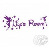 Custom Name/Slogan Fairies Sticker
