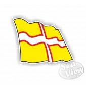 Dorset Flag Sticker