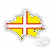 Dorset Map Sticker