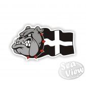 Bull Dog Sticker