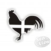 Cockrell Cornish Sticker