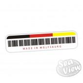 Made in Wolfsburg Sticker