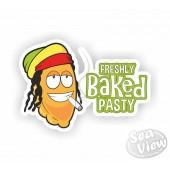 Freshly Baked Pasty Sticker