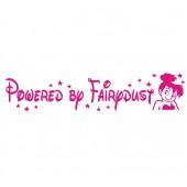 Powered by Fairydust Car Sticker