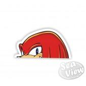 Peeping Knuckles Sticker